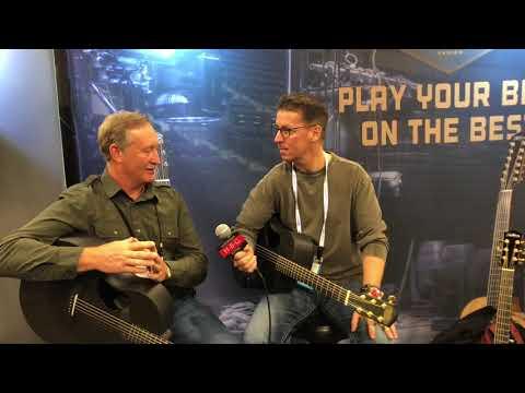 McPherson at NAMM 2018 Carbon Fiber Guitars