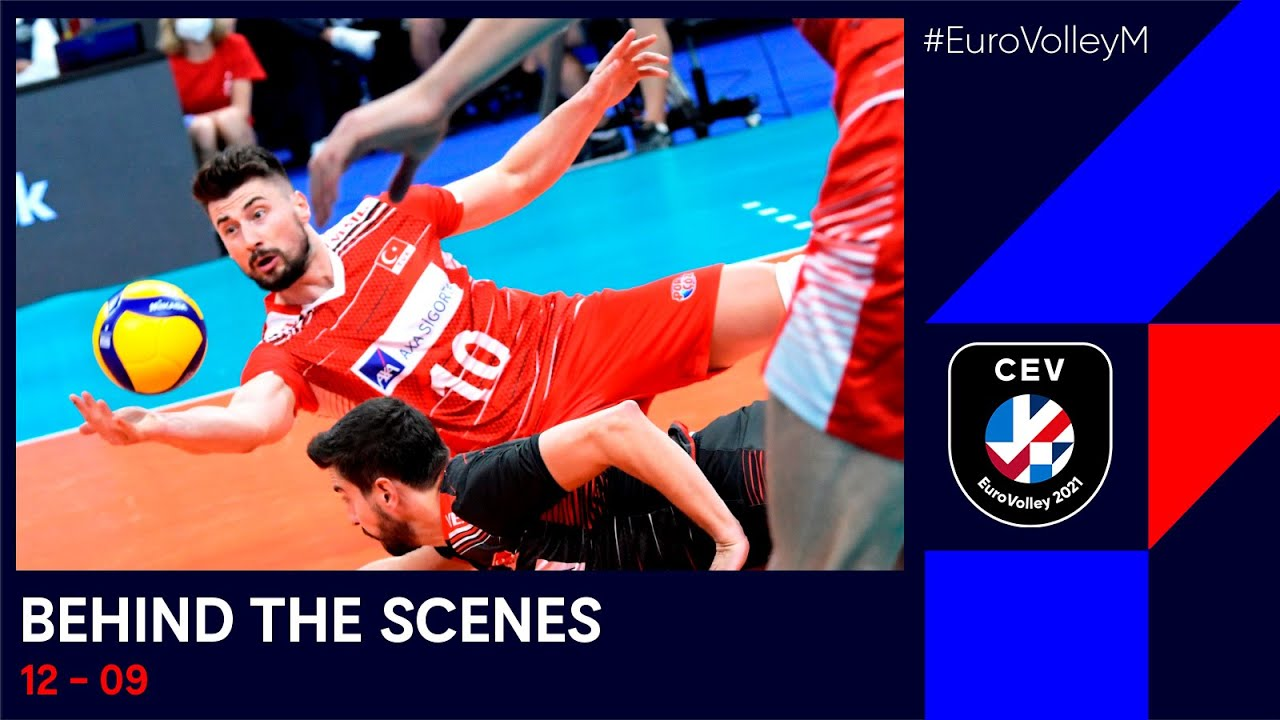 Serbia & The Netherlands survive scares I #EuroVolleyM I Behind the Scenes I Daily Recap