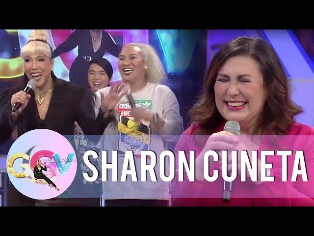 Sharon laughs at Vice Ganda and Negi's story | GGV