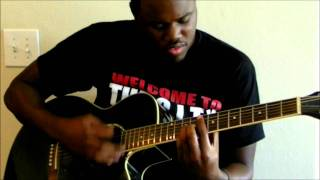 "jaheim - ""Finding My Way Back""  (Guitar Cover)"