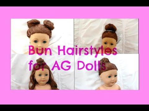 cute & easy bun hairstyles