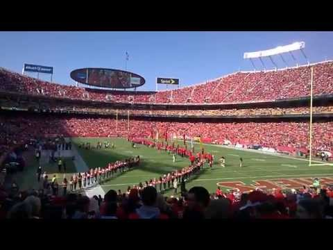 Priest Holmes Ring of Honor ceremony
