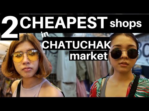 CHEAPEST SPOT IN CHATUCHAK MARKET : 🔥🔥HOT SHOPPING MARKET IN BANGKOK🔥🔥