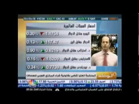 أشرف العايدي في سي أن بي سي عربية لحضات قبل المفاجأة السويسرية - 15 يناير 2015 Chart