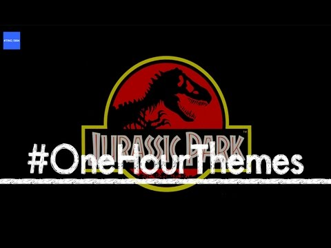 One hour of the 'Jurassic Park' theme