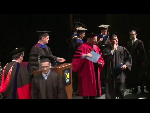 The University of Michigan - Economics Undergraduate Commencement
