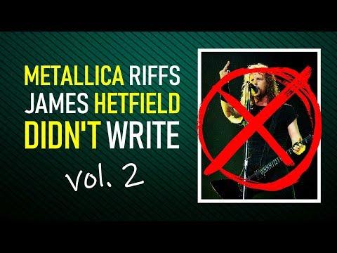 20 (more) Metallica riffs NOT by James Hetfield (+TABS)