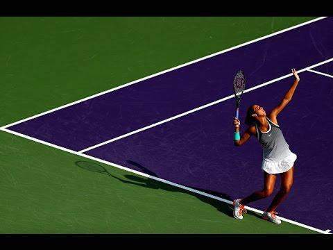 2016 Miami Open Third Round   Madison Keys vs Roberta Vinci   WTA Highlights