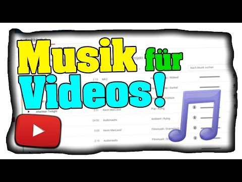 Musik für YouTube Videos finden/benutzen! - Gemafrei &. Kostenlos! - Zum Download! (Tutorial)