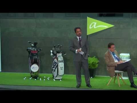 Apertura III Open de Arbitraje: Masters de Augusta.  INAUGURACIÓN. TEE DEL 1.