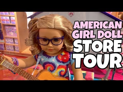 American Girl Doll Store Tour - 2019 Girl Of The Year