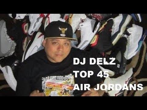 Top 45 Air Jordan Sneakers (Full Entire Countdown) EPIC