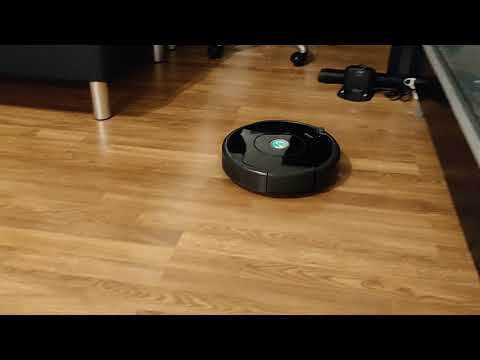 Example of Roomba 605 robovac cleaning patterns