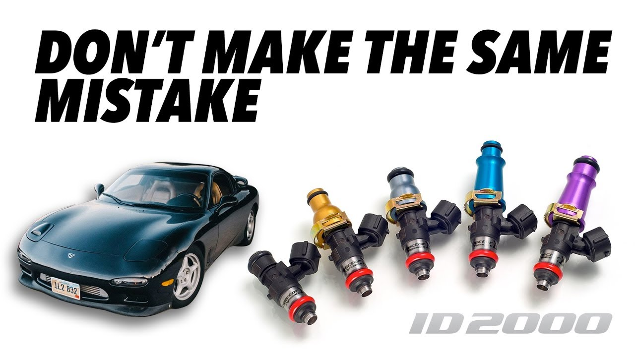 Learn From My Mistake: Injector Dynamics ID2000 Injectors and E85