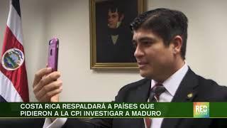 RED+   Venezuela acusó a costa rica de usar a Maduro para distraer a la opinión pública