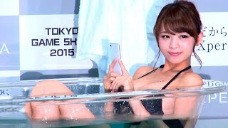 TOKYO GAME SHOW 2015 Tech Safari  WAO✦RYU!TV ONLYinJAPAN #37