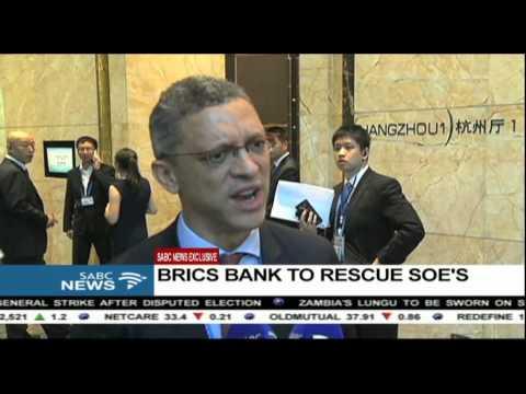 BRICS bank to rescue SOE's