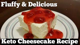 KETO Cheesecake Recipe!  Totally Amazing!   Emily on Keto