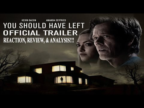 You Should Have Left – Official Trailer Reaction, Review, & Analysis!!! (HD)