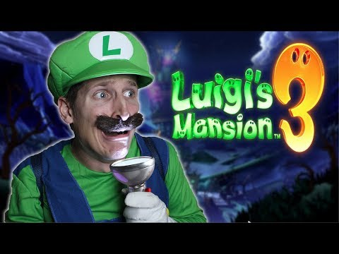 Luigi's Mansion 3 IN REAL LIFE