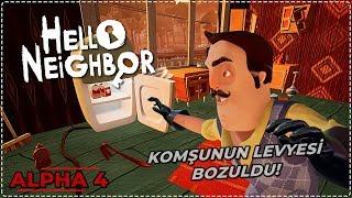 KOMŞUNUN LEVYESİ BOZULDU! 🔩   Hello Neighbor [Türkçe] #203