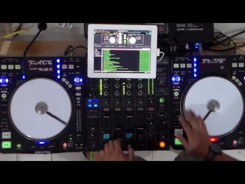 TESTING DENON DN - S 3700 AND BOOMERANG SCRATCH PRACTICE BY DJ R2 CANCUN MEXICO.