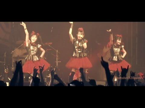 "BABYMETAL -LIVE- ""Doki Doki☆Morning (Snippet)"" @Berlin Aug 27, 2015"