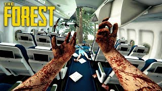 SURVIVE A PLANE CRASH... AGAIN!! (The Forest - Full Release)