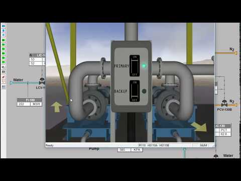 Simulation Solutions Pump & Valve Operator Training Simulator