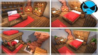 Minecraft: 5 Medieval Bedroom Designs Ideas For 1 14 YouTube