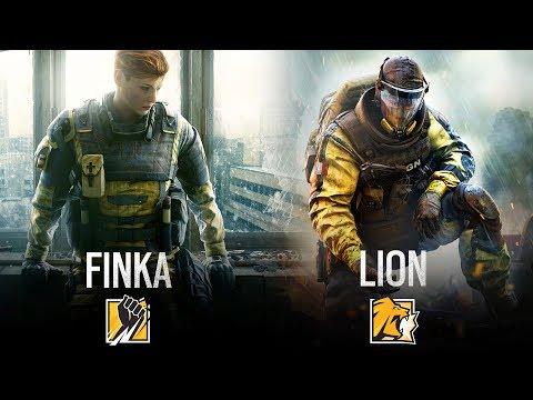TWO NEW OPERATORS: FINKA AND LION - Rainbow Six Siege (Operation Chimera)