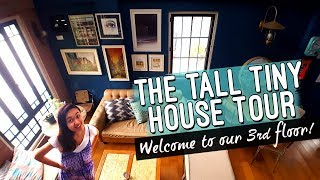The Tall Tiny House Tour // Apartment Style Vintage Industrial Home // Philippines //  Elle Uy