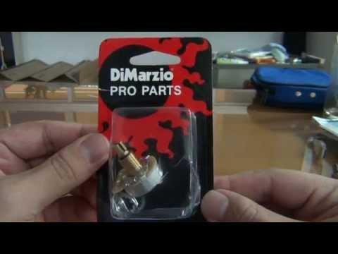 uNbox DiMarzio 500K Custom Taper Split Shaft Pot (think-art) - YouTube