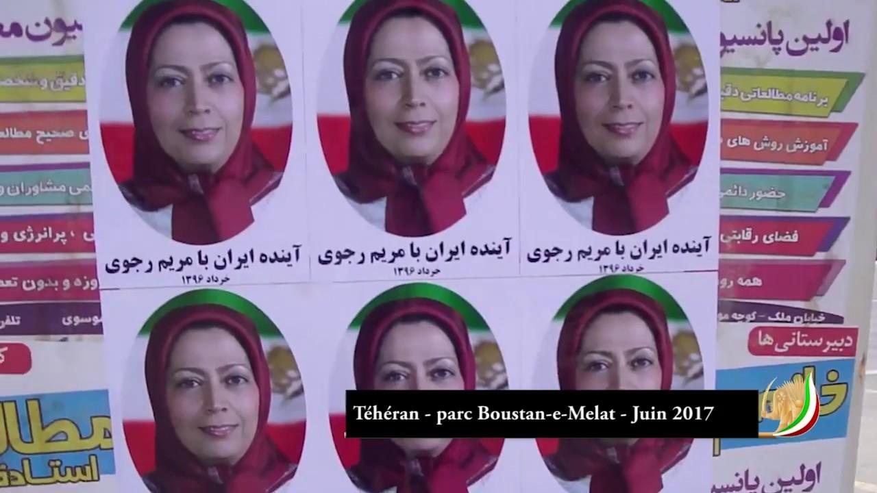 Vaste campagne des jeunes et des sympathisants de la Résistance iranienne sur le territoire iranien