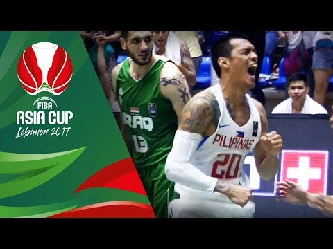 Top 5 Plays - Day 4 - FIBA Asia Cup 2017