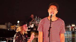 SCIENCE OF FEAR: THE TEMPER TRAP live at LANEWAY FESTIVAL Press Conference
