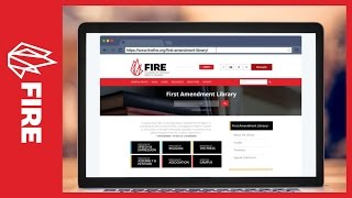FIRE's First Amendment Library