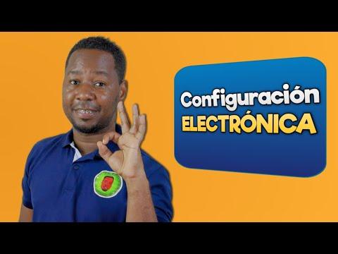 Configuración electrónica (Explicación y ejercicios