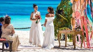 Risas, nervios y complicidad en el encuentro de Sheyla y Carolyne - Casados a Primera Vista