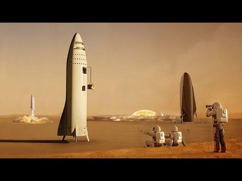 Что сделает SpaceX когда доберется до Марса