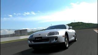 GT5 2400ps スープラで富士スピードウェイを走ってみた