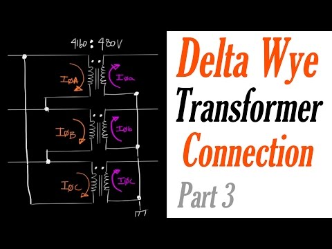 Introduction to the Delta Wye Transformer Connection Part 3: Current Quantities
