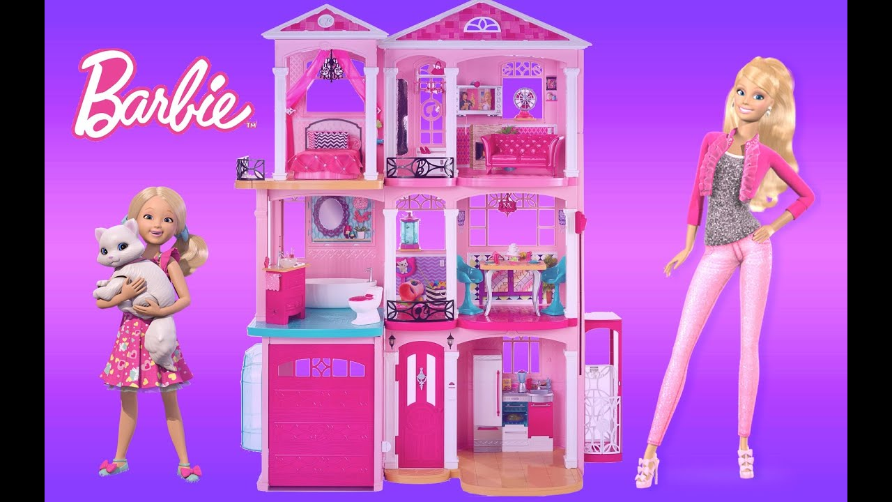 maxresdefault barbie dreamhouse 2015 unboxing assembly and full house tour Barbie Dreamhouse at bayanpartner.co