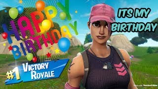 Fortnite God of the noobs celebrating 26 years of life!!!