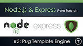 Nodejs express tutorial pugjs templating engine formerly 1641 pronofoot35fo Images