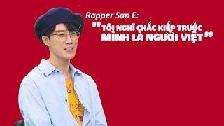 Rapper San E có thể ăn 5 TÔ PHỞ mỗi ngày mà không ngán