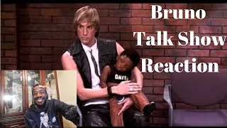 Bruno Talk Show REACTION