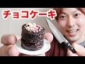 小さすぎるチョコレートケーキを作ってみた!