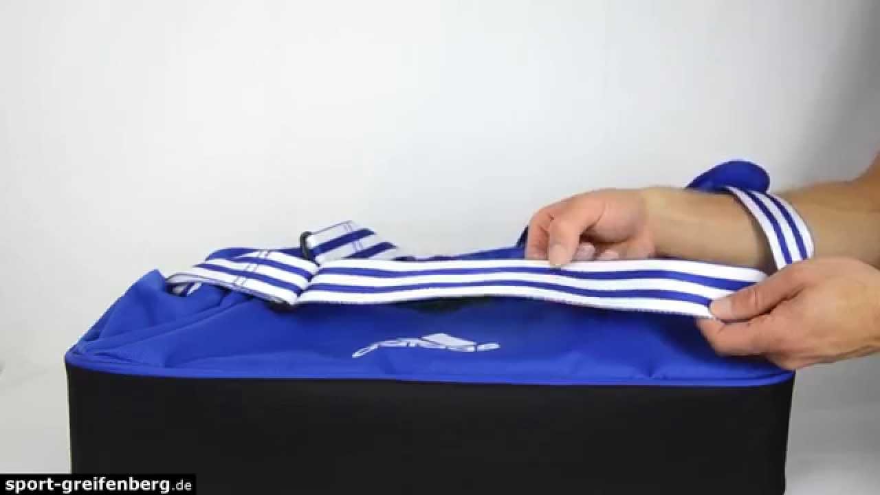 0c265ea3cf3a Adidas Tiro 15 Teambag mit Bodenfach - YouTube