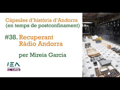 Càpsula #38. Recuperant Ràdio Andorra, per Mireia Garcia.